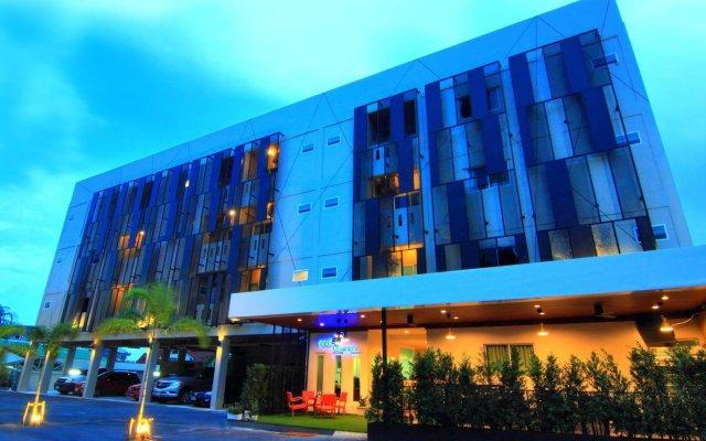 Отель Cool Residence Таиланд, Пхукет - отзывы, цены и фото номеров - забронировать отель Cool Residence онлайн вид на фасад
