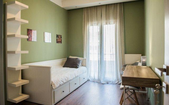 Отель Danae Apartment by QR booking Греция, Салоники - отзывы, цены и фото номеров - забронировать отель Danae Apartment by QR booking онлайн комната для гостей