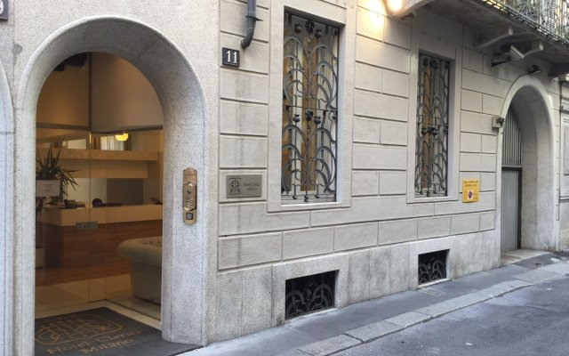 Clerici Boutique Hotel вид на фасад