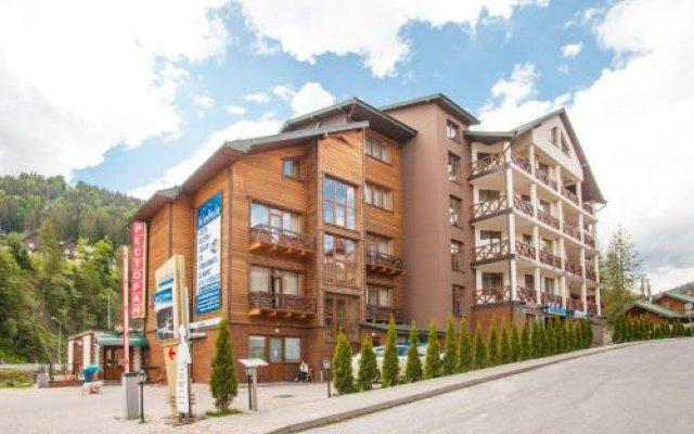 Hotel Skilandhouse вид на фасад