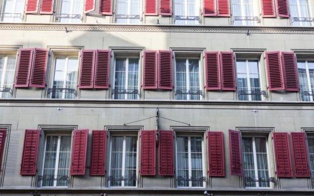Отель Goldener Schlüssel вид на фасад