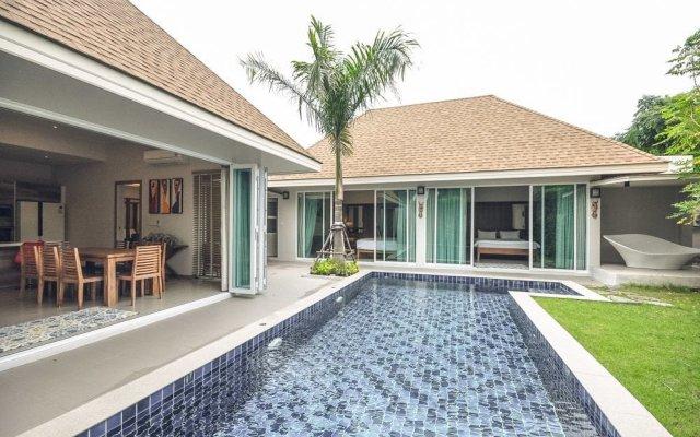 Отель AYG Marum Private Pool Villa вид на фасад