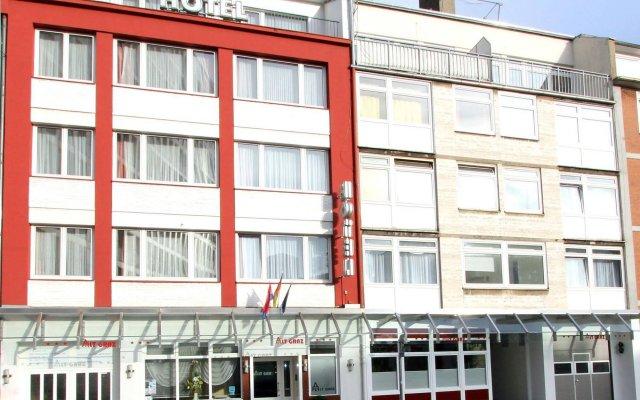 Отель Alt Graz Германия, Дюссельдорф - отзывы, цены и фото номеров - забронировать отель Alt Graz онлайн вид на фасад