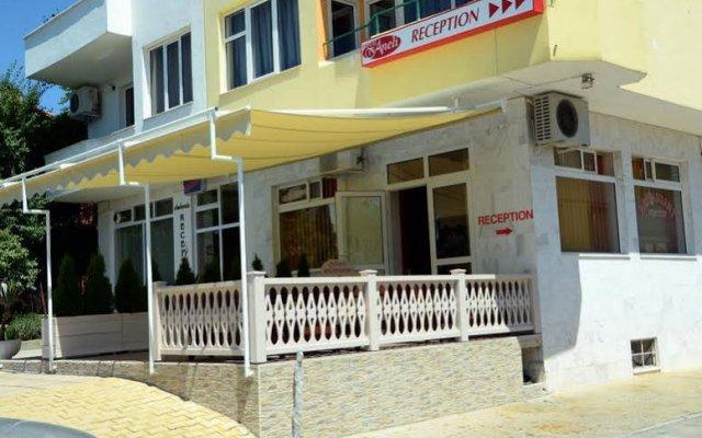 Hotel Aneli Сандански вид на фасад
