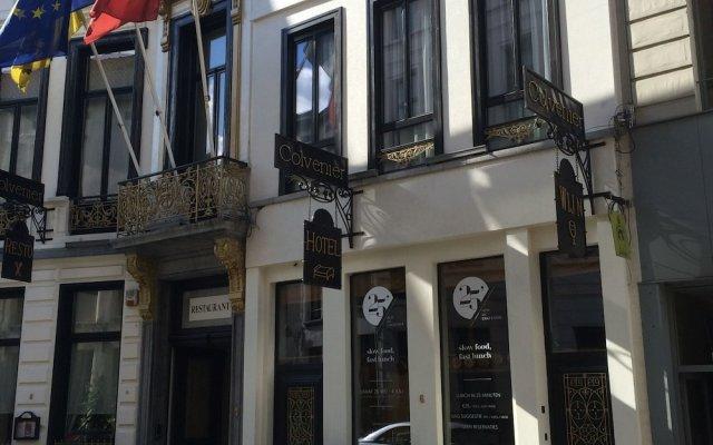Отель Colvenier Бельгия, Антверпен - отзывы, цены и фото номеров - забронировать отель Colvenier онлайн вид на фасад