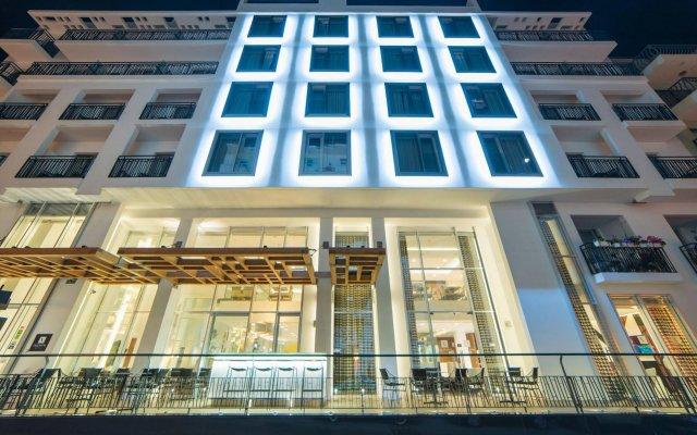 Hotel Valentina Сан Джулианс вид на фасад