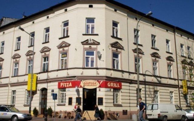 Отель Station Aparthotel Краков вид на фасад