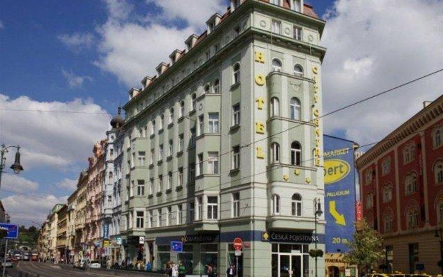 Отель City Centre Чехия, Прага - 13 отзывов об отеле, цены и фото номеров - забронировать отель City Centre онлайн вид на фасад