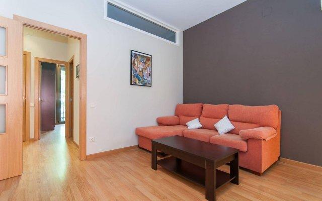 Апартаменты Bbarcelona Apartments Sagrada Familia Terrace Flats Барселона комната для гостей