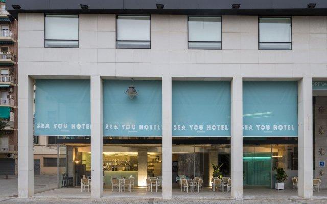 See You Hotel Port Valencia вид на фасад