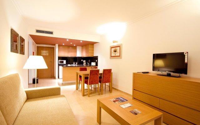 Отель Monte Gordo Apartamento And Spa Монте-Горду комната для гостей