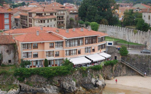 Отель Apartamentos Venuntiempo вид на фасад