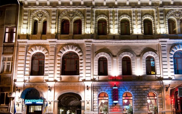 Айвазовский Отель вид на фасад