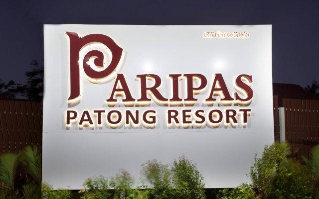Отель Paripas Patong Resort вид на фасад