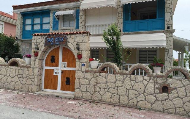 Sari Kösk Butik Hotel Чешме вид на фасад