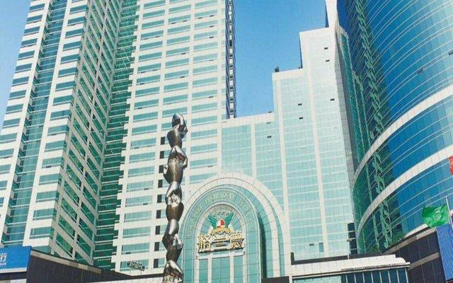 Отель Grand Holiday Hotel Китай, Шэньчжэнь - отзывы, цены и фото номеров - забронировать отель Grand Holiday Hotel онлайн вид на фасад