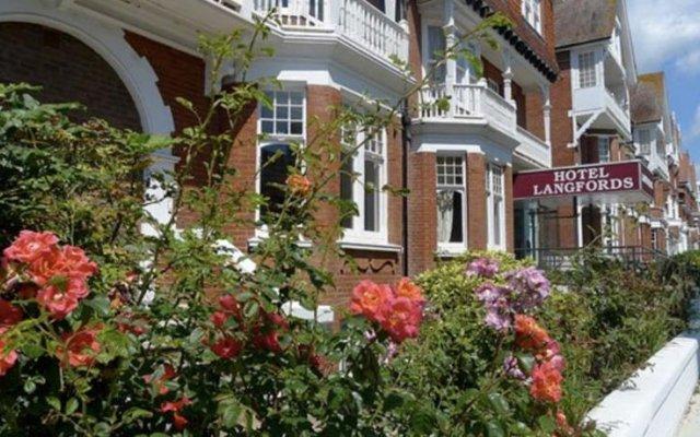 Langfords Hotel вид на фасад