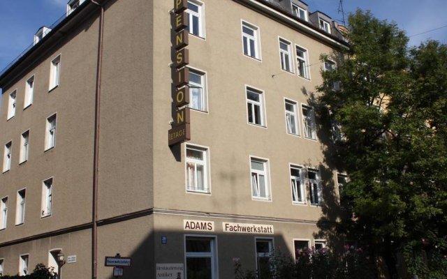 Hotel Pension Schmellergarten вид на фасад