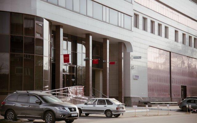 Отель Маркштадт Челябинск вид на фасад