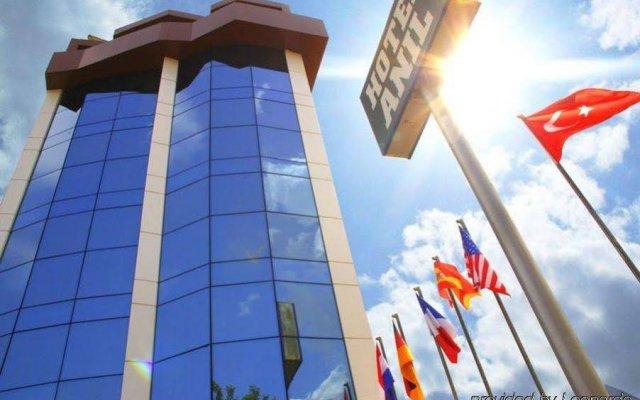 Anil Hotel Турция, Дикили - отзывы, цены и фото номеров - забронировать отель Anil Hotel онлайн вид на фасад