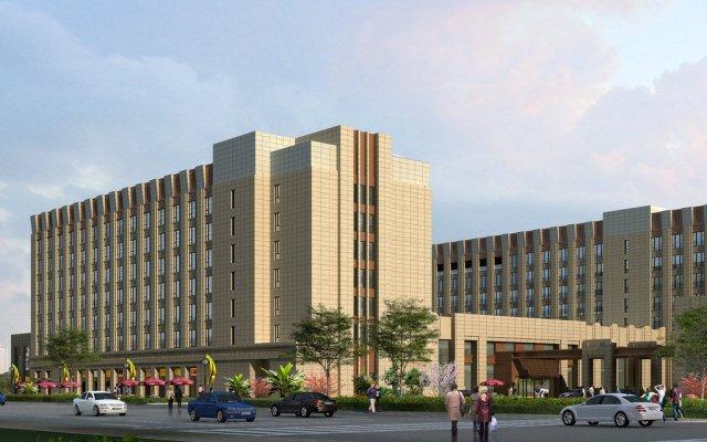 Отель Holiday Inn Shanghai Hongqiao вид на фасад