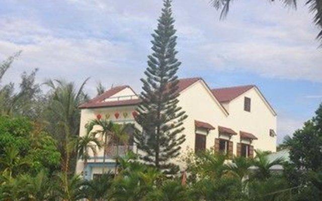 Отель Tra Que Riverside Homestay вид на фасад
