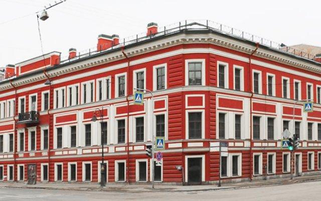 Отель Станция L1 Санкт-Петербург вид на фасад