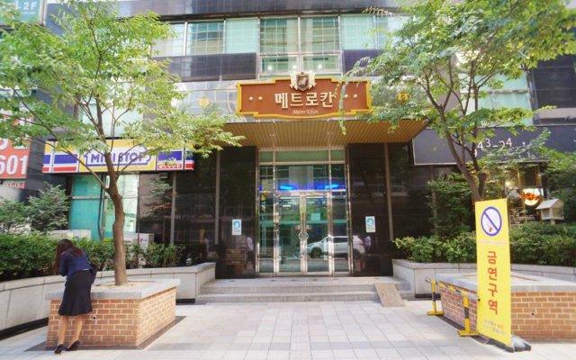 Апартаменты Edencity Apartment Samsung Coex Station вид на фасад