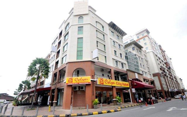 Celyn City Hotel вид на фасад