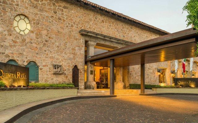 Отель Quinta Real Guadalajara Гвадалахара вид на фасад