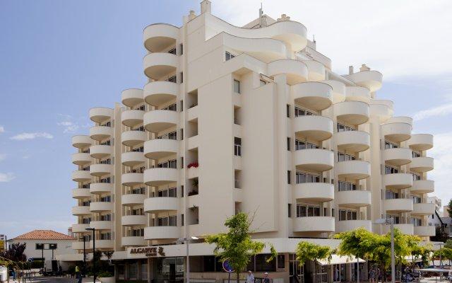 Отель TURIM Algarve Mor Hotel Португалия, Портимао - отзывы, цены и фото номеров - забронировать отель TURIM Algarve Mor Hotel онлайн вид на фасад