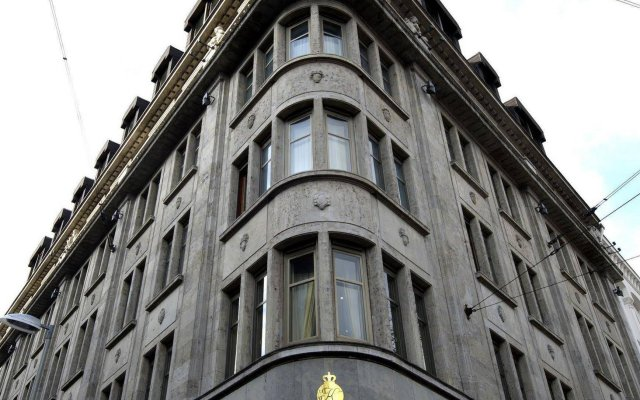Central-Hotel Kaiserhof вид на фасад