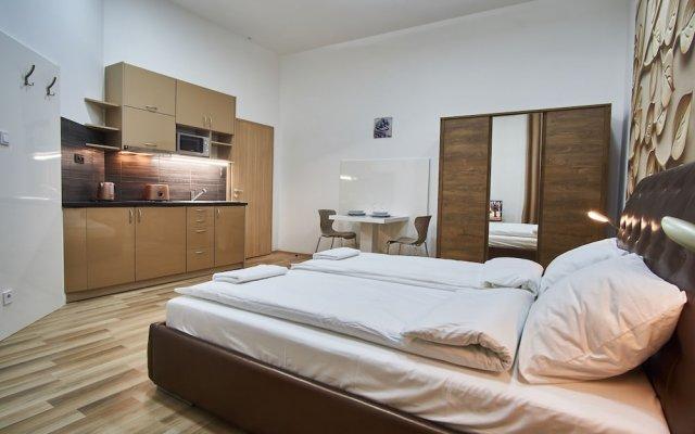 Апартаменты K51 Apartment Budapest Будапешт комната для гостей
