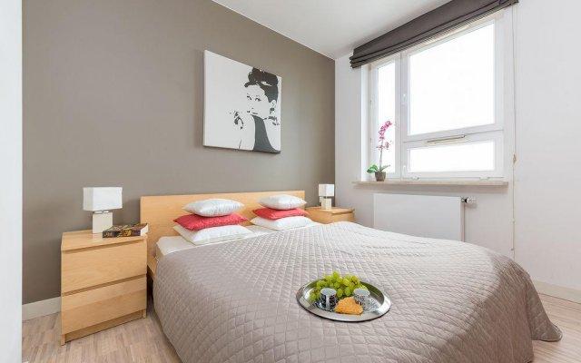 Апартаменты P&O Apartments Arkadia комната для гостей