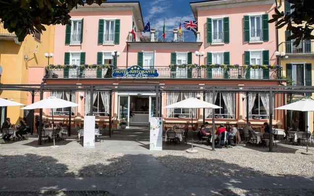 Отель Albergo Pesce Doro Италия, Вербания - отзывы, цены и фото номеров - забронировать отель Albergo Pesce Doro онлайн вид на фасад