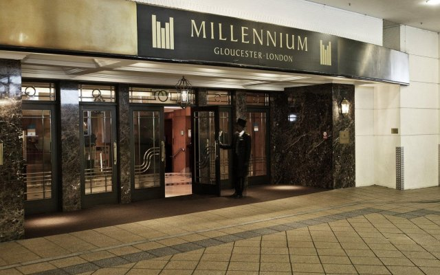 Millennium Gloucester Hotel London вид на фасад