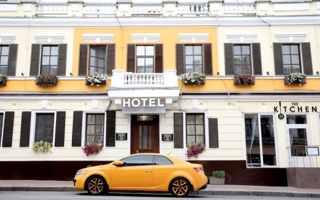 Отель Number 21 Киев вид на фасад