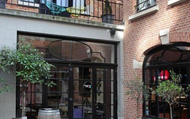 Hotel Vintage Airstream Брюссель вид на фасад
