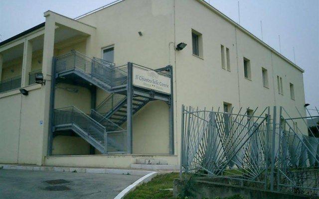 Отель Il Chiostro Delle Cererie Матера вид на фасад
