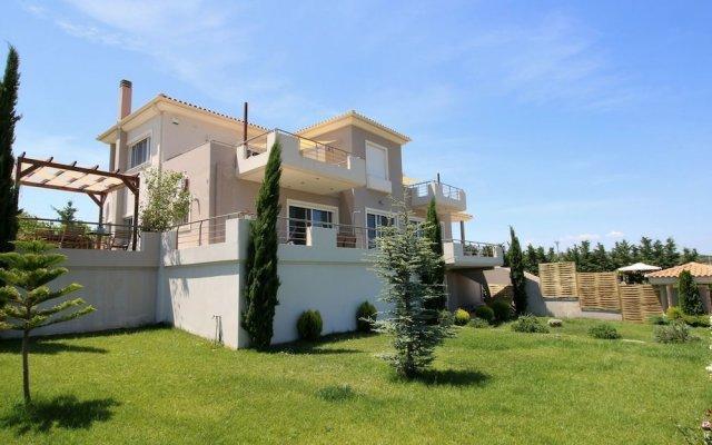 Отель Villa Abelos Греция, Галатси - отзывы, цены и фото номеров - забронировать отель Villa Abelos онлайн вид на фасад