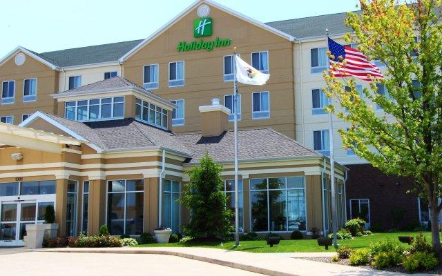 Отель Holiday Inn Effingham вид на фасад