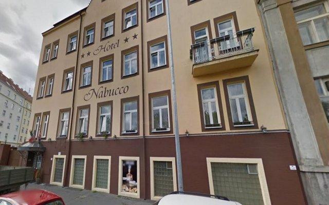 Отель NABUCCO Прага вид на фасад