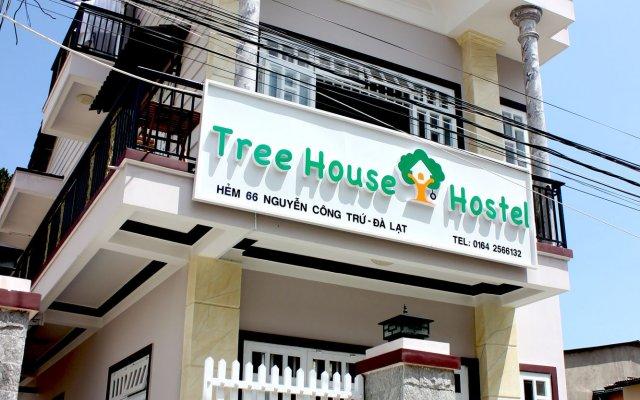 Tree House Hostel Далат вид на фасад