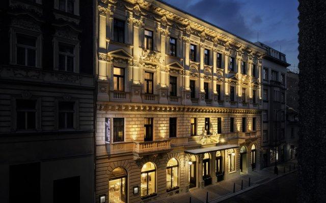 Cosmopolitan Hotel Prague вид на фасад