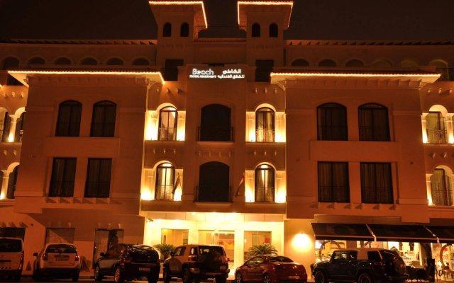 Beach Hotel Apartment вид на фасад