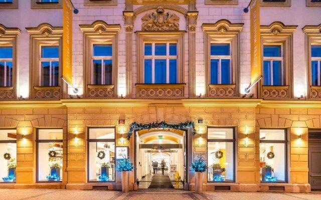 Отель Grandium Prague Чехия, Прага - 11 отзывов об отеле, цены и фото номеров - забронировать отель Grandium Prague онлайн вид на фасад