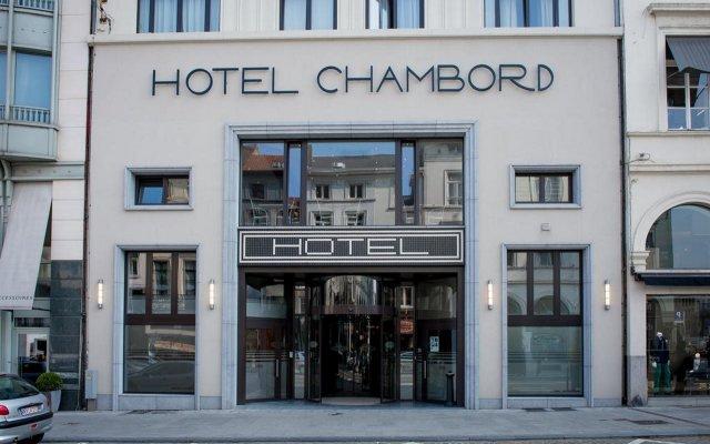 Отель Chambord Бельгия, Брюссель - 1 отзыв об отеле, цены и фото номеров - забронировать отель Chambord онлайн вид на фасад