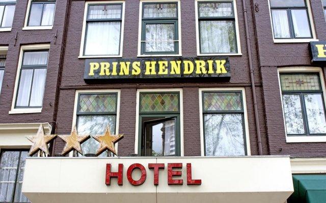 Отель Prins Hendrik Нидерланды, Амстердам - 5 отзывов об отеле, цены и фото номеров - забронировать отель Prins Hendrik онлайн вид на фасад