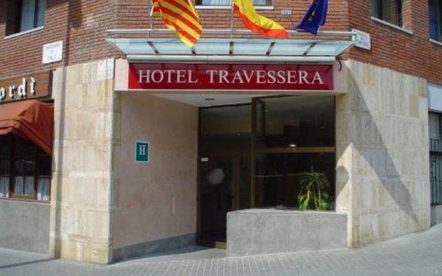 Hotel Travessera вид на фасад