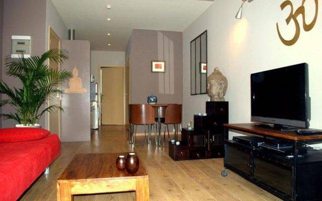 Апартаменты Ze Agency Apartments Brussels Ixelles комната для гостей